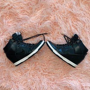 NIKE Women's Force High Top Wedge Sneaker